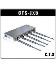 Bruiaj GSM Profesional cu 5 antene - reglaj putere pe fiecare antena