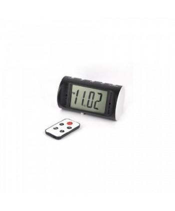 Ceas digital de birou cu camera ascunsa si telecomanda - 2200 mAh