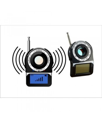 Mini Detector CC-309 cu laser pentru camere spion wireless sau cu fir