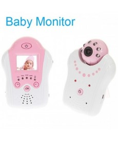 2.4GHz Monitor LCD video wireless cu IR Night Vision Camera supraveghere bebelusi