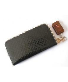 Portofel/borseta negru cu camera spion | Telecomanda si memorie 4 GB