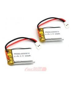 602030 - Acumulator Li-Polymer - 3,7 V - 320mah - 30x20x6 mm