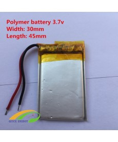 293045 - Acumulator Li-Polymer - 3,7 V - 350mah - 30x45x2.9 mm