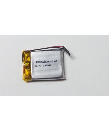 AHB 392128 - Acumulator Li-Polymer - 3,7 V - 195mah - 21x28x3,9 mm