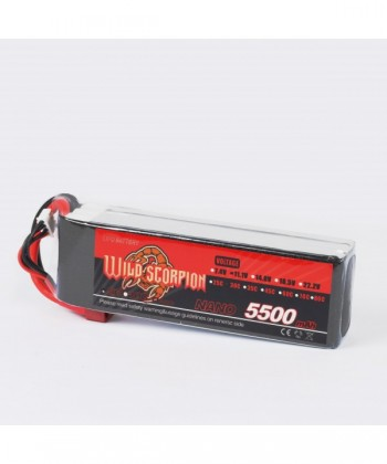Acumulator Li-Po Wild Scorpion 5500mAh, 11.1V 30C