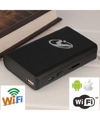 Camera ascunsa 1080P powerbank Wi-Fi, nightvision, detectie miscare