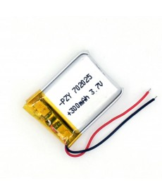 702025- Acumulator Li-Polymer - 3,7 V - 300mah